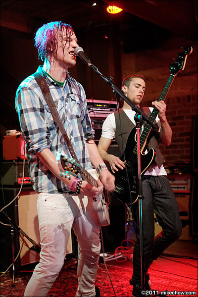 Secret Revolution live at Joe's Apartment, Vancouver BC, May 14, 2011.