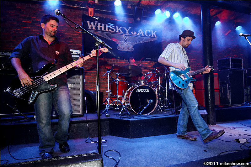 Whiskey Jack live at The Roxy, Vancouver BC, August 16, 2011.