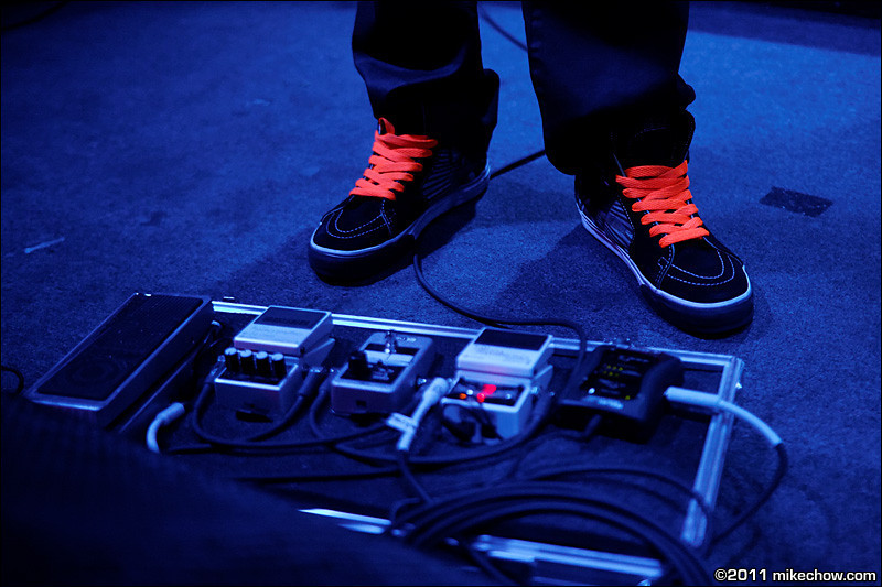 Dead City Scandal live at The Roxy, Vancouver BC, August 16, 2011.<br /> <br /> Jimmy Mac's neon shoelaces.