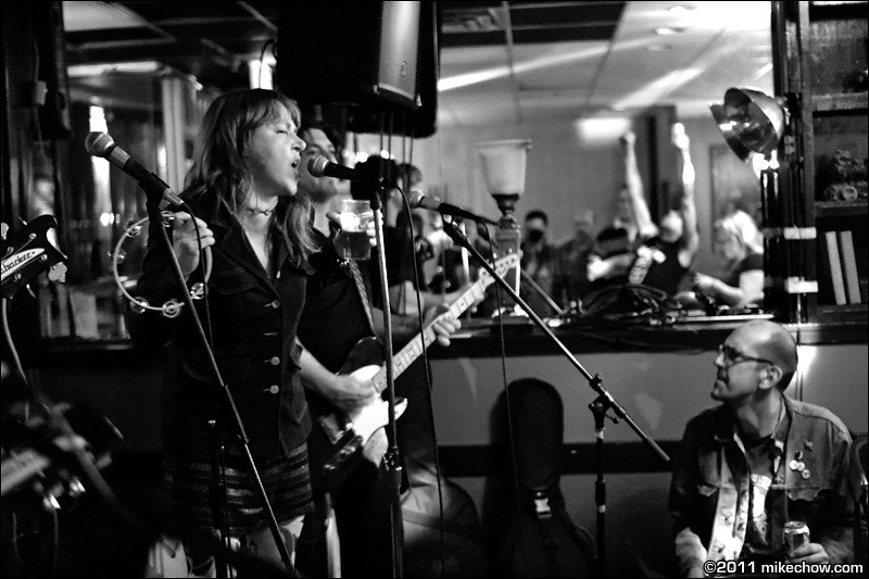 The Fiends live at Lanalou's, Vancouver BC, July 2, 2011.