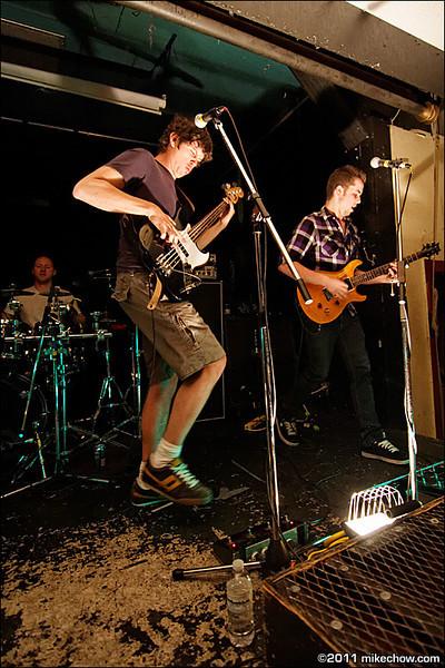 Tenant live at The ANZA Club, Vancouver BC, May 13, 2011.