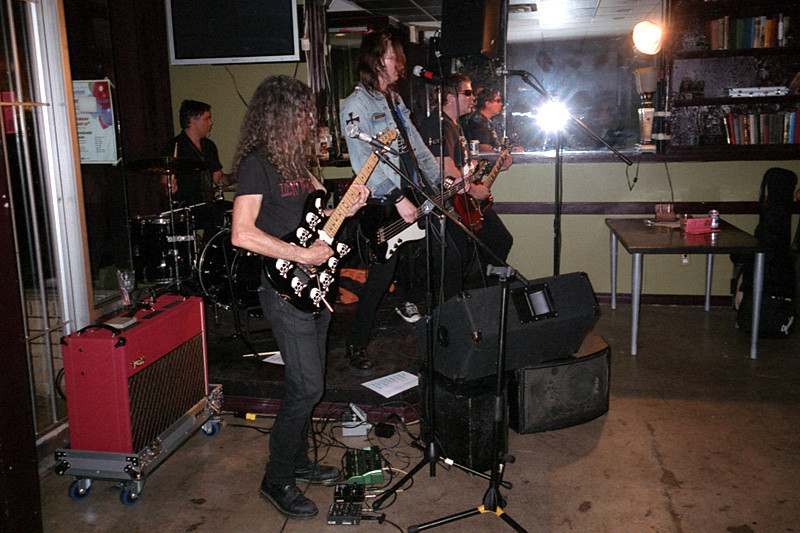 Social Outcast live at Lanalou's, Vancouver BC,  August 6, 2011.