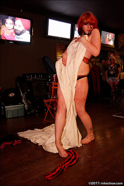 Misty Graves Gorlesque Spectacular live at Pat's Pub, Vancouver BC, April 2, 2011.