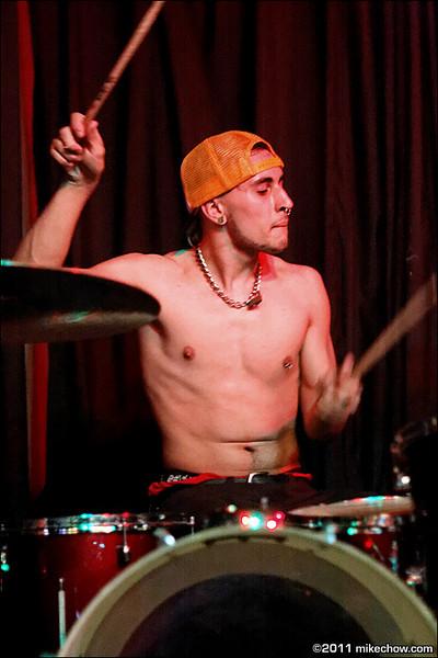 The Wrecktals live at Pat's Pub, Vancouver BC, April 2, 2011.