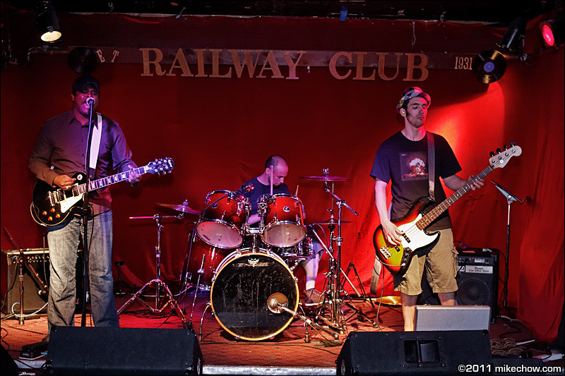 The Velvet Chameleon live at The Railway Club, Vancouver BC, August 2, 2011.