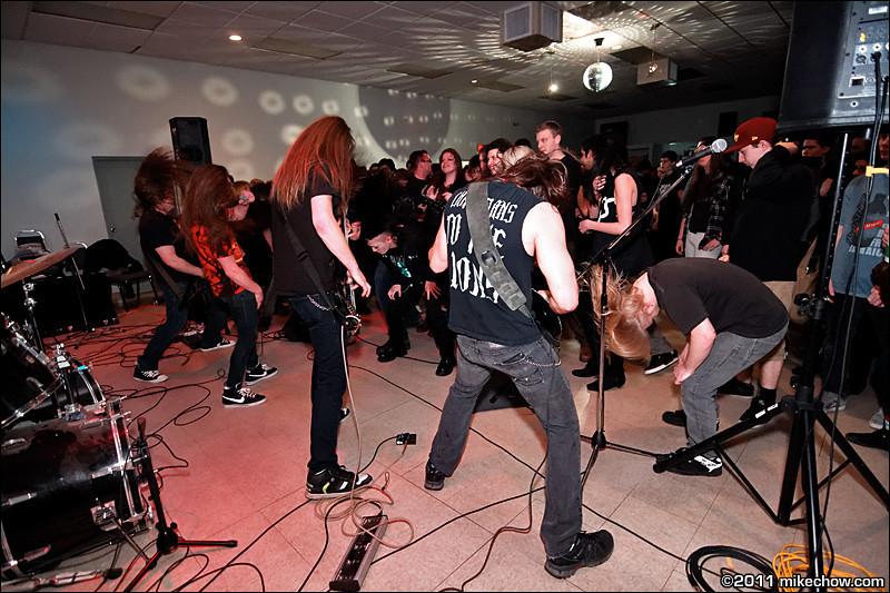 13th Prophet live at Elks Hall, Port Coquitlam BC, March 12, 2011.