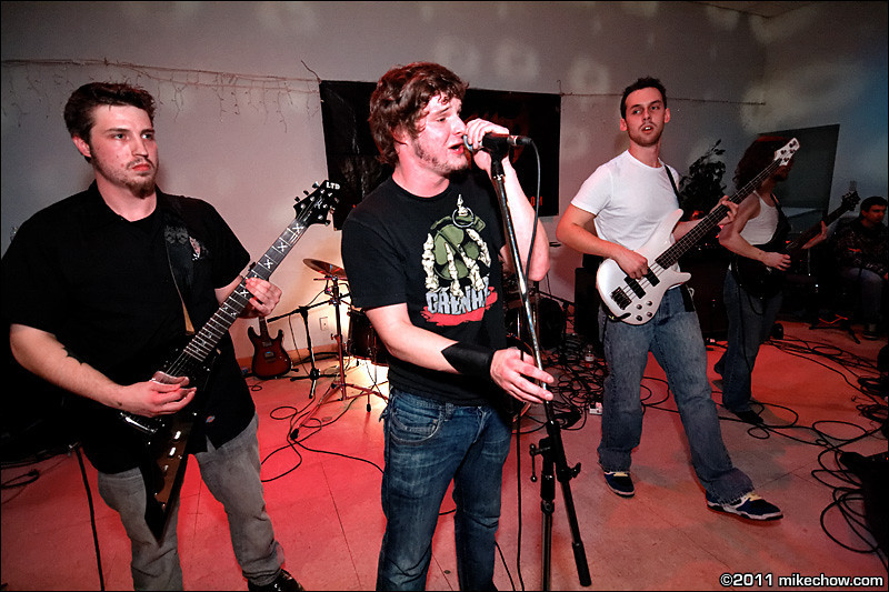 Remove the Doubt live at Elks Hall, Port Coquitlam BC, March 12, 2011.