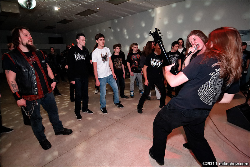 Without Mercy live at Elks Hall, Port Coquitlam BC, March 12, 2011.<br /> <br /> Hey, it's that guy from Theocide!