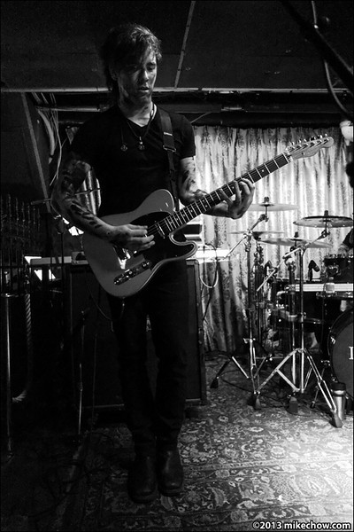 Incura live at The Cellar, Vancouver BC, February 15, 2013.