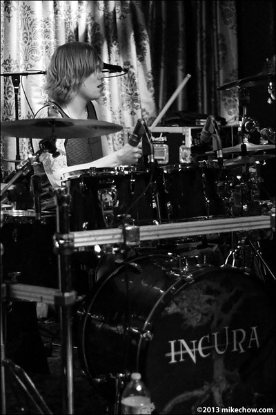 Quartered live at The Cellar, Vancouver BC, February 15, 2013.