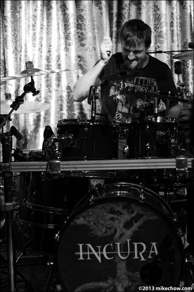 Amusia live at The Cellar, Vancouver BC, February 15, 2013.