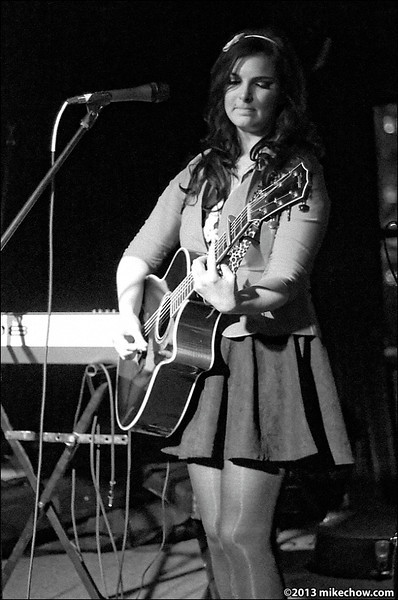 Emily Madden live at The Backstage Lounge, Vancouver BC, April 13, 2013.
