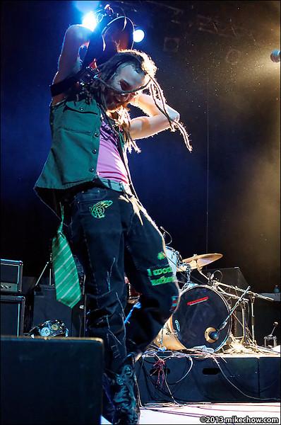Cornshed live at The Rickshaw Theatre, Vancouver BC, March 16, 2013.