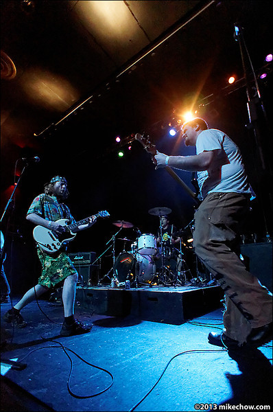 The Dreadnoughts live at The Rickshaw Theatre, Vancouver BC, March 16, 2013.