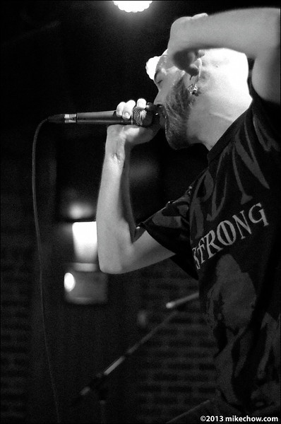 Among the Betrayed live at Joe's Apartment, March 30, 2013.