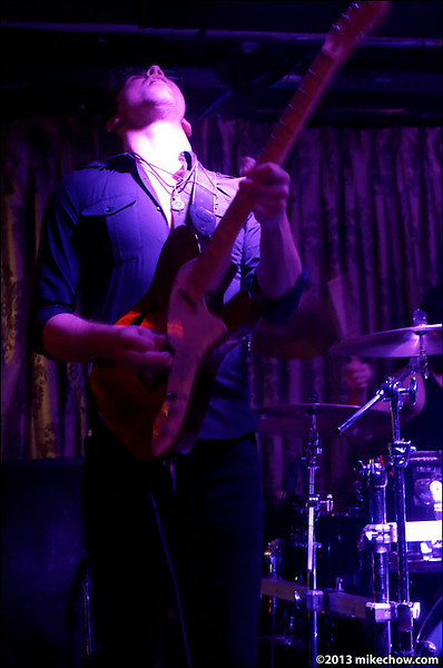 The Turn live at The Cellar, Vancouver BC, August 9, 2013.
