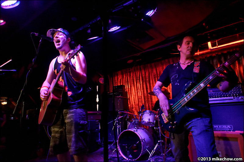 Pedwell live at The Cellar, Vancouver BC, August 9, 2013.