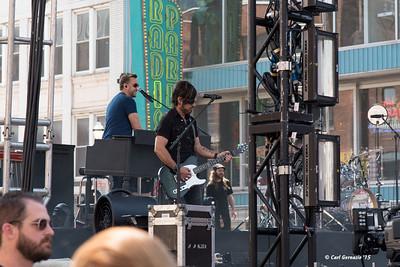 Darius Rucker's Band at Sound Check.