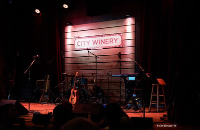 The Stage at the City Winery, Nashville, TN - June 11, 2015.