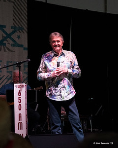 Bill Anderson on the WSM-Durango Boots Stage, Fan Fair - X Hall.