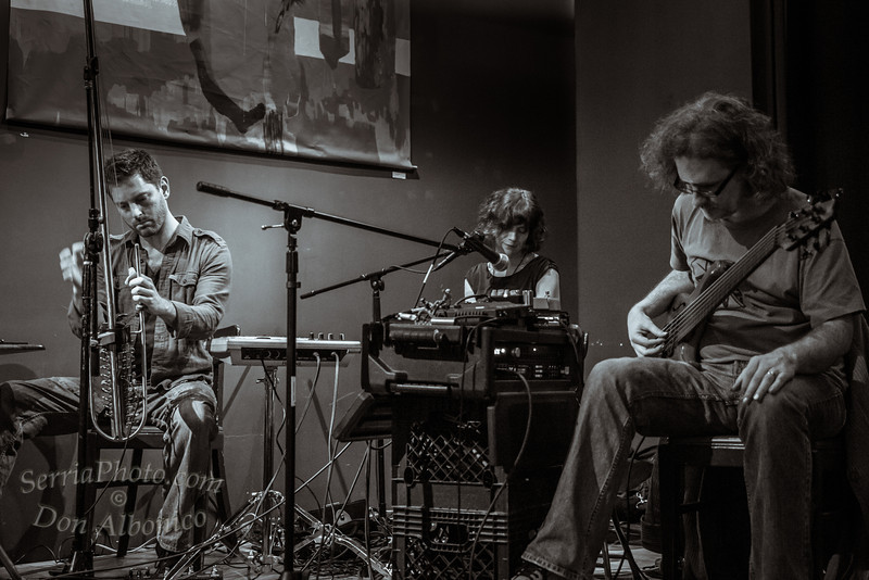 Daniel Berkman, Steve Lawson and Artemis at Awaken Cafe<br /> <br /> KH4C7724