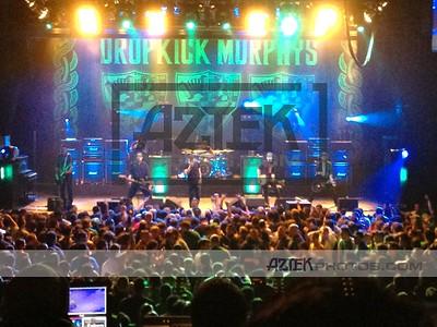 3/11/12 Dropkick Murphys @ Paramount