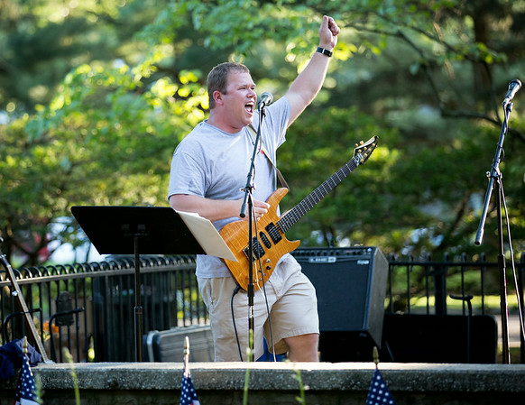 John Sakoff from The Shoes, Wenonah 4th of July Concert