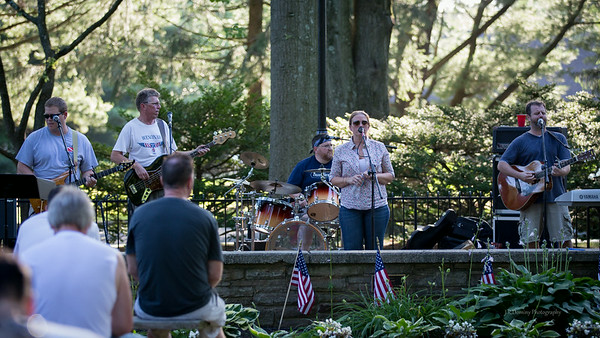 Wenonah's very own - The Shoes playing July 4, 2013