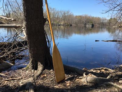 Concord River canoeing in Billerica