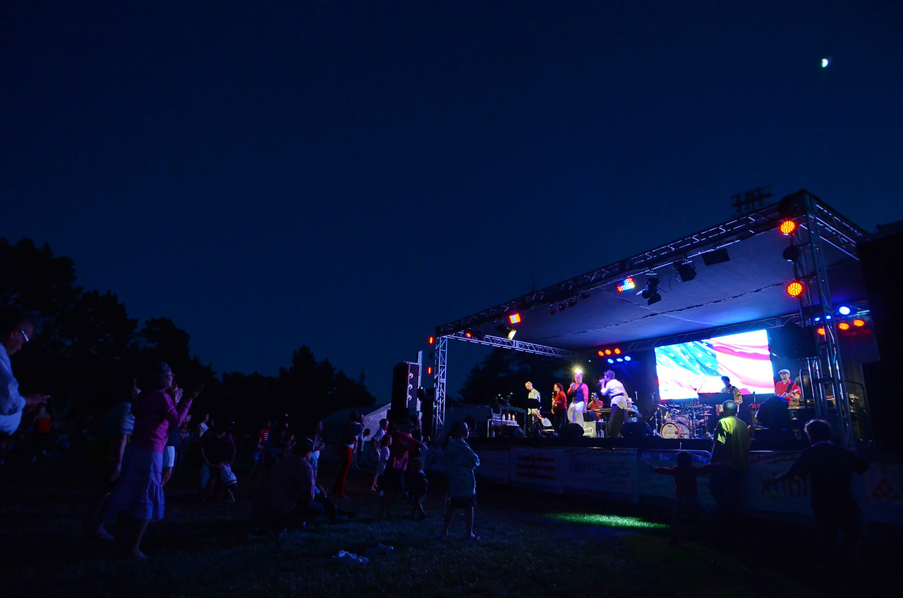 Concord concert and fireworks July 4 2014