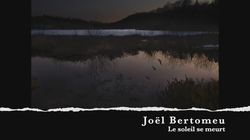 Joel Bertomeu le soleil se meurt