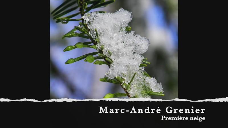 marc andre grenier premeiere neige