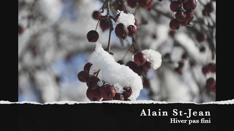 Alain St-Jean hiver pas fini