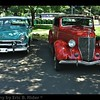 1936 Ford and 1951 Ford Victoria Coupe