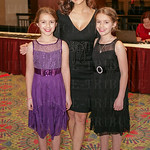 Shannon Cogan with Leila and Mia Reilly.