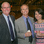 Joe Grider, Paul Haydon and Ann Coury Malloy.