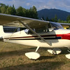 1958 Cessna 172...very neat paint on the aircraft