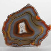 #1730 Condor Agate, San Rafael, Mendoza province, Argentina<br /> The bands in this agate remain distinct while changing colors form one spot to the next.<br /> 6.5 x 5 x 3 cm    118g<br /> $90