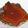 #1725 Condor Agate, San Rafael, Mendoza province, Argentina<br /> The white agate center and white band at left make this a lively Condor.<br /> 7 x 5 x 4 cm    136 g<br /> $110