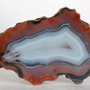 #1738 Condor Agate, San Rafael, Mendoza province, Argentina<br /> A very noble and classical agate, perfect.<br /> 9 x 5 x 4 cm     189 g<br /> $160