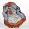 #1743 Condor Agate, San Rafael, Mendoza province, Argentina<br /> Very well defined with great contrast and fascinating forms.<br /> 9 x 7.5 x 3 cm     225 g<br /> $180