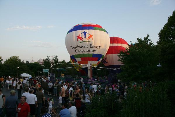 Coney-Island Balloon Glow & Fireworks