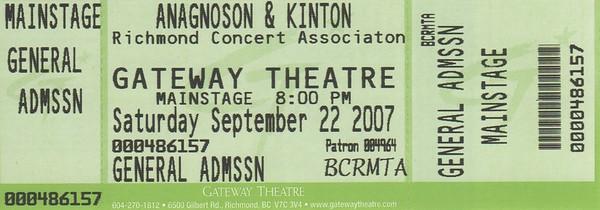 gateway ticket