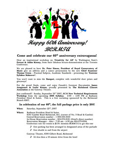 Anniversary Info Registration Form