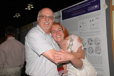 That moment when you present a poster at a conference and see your first mentor.