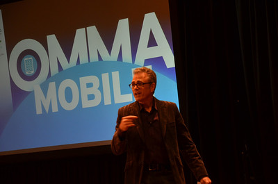 Thom Kennon at the OMMA Mobile Conference, part of the SXSW event this year. (2013)