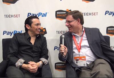 Brian Solis and Wayne Kurtzman - interview at the PayPal TechSet Social Media Lounge at SXSW14.