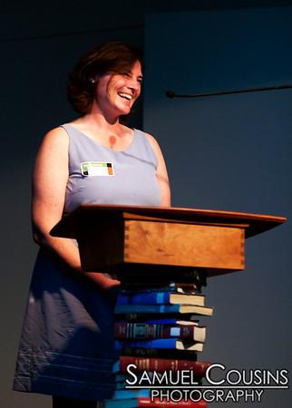 Pecha Kucha, at the Portland Public Library