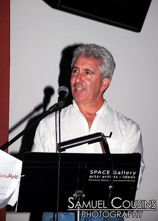 Pecha Kucha, at Space Gallery.