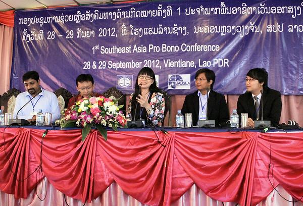 2012 Laos Pro Bono Conference